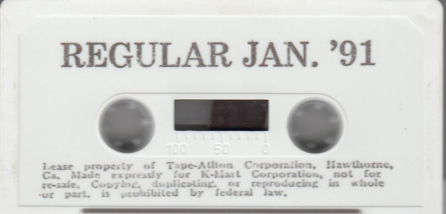 Kmart January 1991 : Tape-A-Thon : Free Download, Borrow