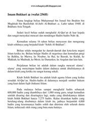 Kitab Shahih Bukhari Bahasa Indonesia Pdf