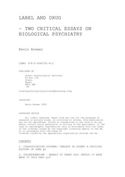 thesis psychiatry