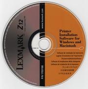 software lexmark z12