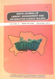 Librarys Role In Preservation Of Tiv Traditional Music And Dance In Benue State