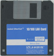 Linksys LNE100TX LAN Card Driver Disk : Linksys : Free Download