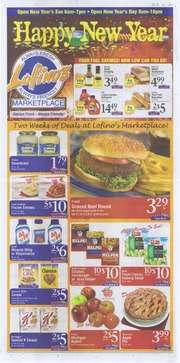 Lofinos Print Advertisement 12-30-2013