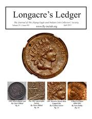 Longacre's Ledger (April 2015)