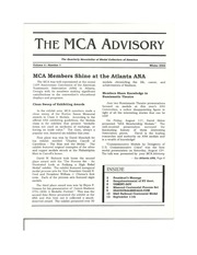 The MCA Advisory, Winter 2002