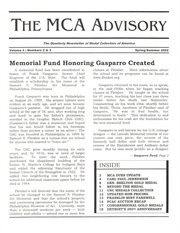The MCA Advisory, Spring-Summer 2002