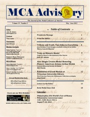 The MCA Advisory, May-June 2012 (pg. 11)