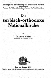Die serbisch-orthodoxe Nationalkirche microform