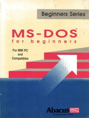 Ms Dos Book Pdf
