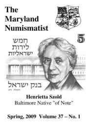 The Maryland Numismatist (2009, no. 1)