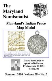 The Maryland Numismatist (2010, no. 2)