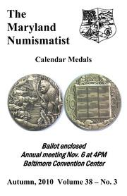 The Maryland Numismatist (2010, no. 3)