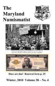 The Maryland Numismatist (2010, no. 4)