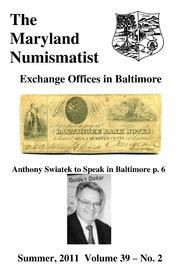 The Maryland Numismatist (2011, no. 2)