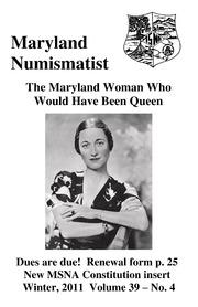 The Maryland Numismatist (2011, no. 4)