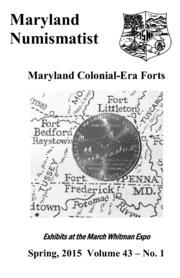 The Maryland Numismatist (2015, no. 1)