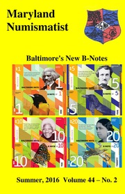The Maryland Numismatist (2016, no. 2)