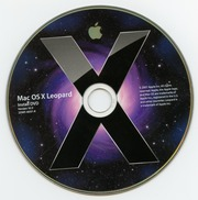 Mac OS X Leopard Install DVD Version 10 5 (2Z691 6037 A) (Apple, Inc