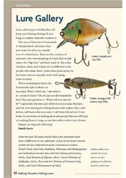 Making Wooden Fishing Lures : Free Download, Borrow, and