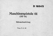 Maschinenpistole 44
