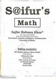 Saifurs Math Book