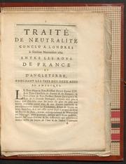 Traite de paix entre la france et l 39 angleterre conclu for Chambre de commerce francaise a londres