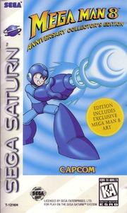 Sega Saturn Manual: MegaMan 8 (1997)(Capcom)(US) : Free Download