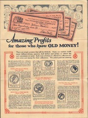Amazing Profits for those who know OLD MONEY