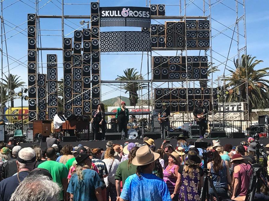 Melvin Seals Live at Main Stage, Skull & Roses Festival, Ventura, CA
