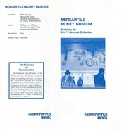 Mercantile Money Museum Brochure