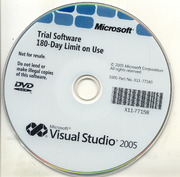 Microsoft Visual Studio 2005 180-Days Trial : Free Download