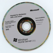 Microsoft Windows Home Server 2011 Server Installation 64