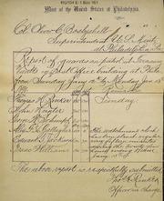 Mint guard report (1-13-1890)