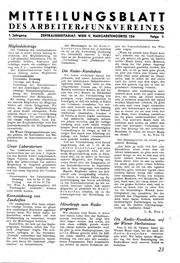 Mitteilungsblatt des Arbeiter-Funkvereins 1946-05