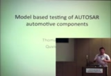 Model Based testing of AUTOSAR automotive components : Free