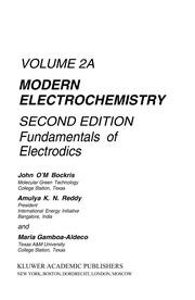 138361095 modern electrochemistry vol 2 b bockris free download modern electrochemistry 2ed 2002 vol 2a fundamentals of electrodics bockris reddy gamboa ald fandeluxe Image collections