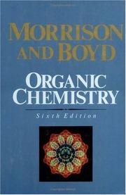 Morrison amp Boyd Organic Chemistry Free Download Borrow