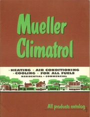 Mueller climatrol : L. J. Mueller Furnace Co. : Free Download, Borrow, and  Streaming : Internet Archive