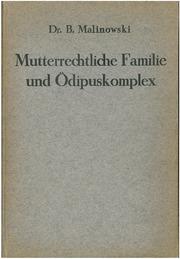 Mutterrechtliche Familie und Ödipuskomplex