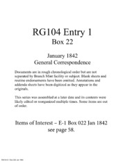 General Correspondence