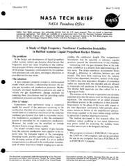 Liquid rocket engine combustion instability pdf editor