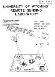 NASA Technical Reports Server (NTRS) 19730004625 ...