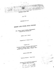 NASA Technical Reports Server (NTRS) 19760066866: BLIMP-J user-s manual. Boundary layer integral matrix procedure for JANNAF, rocket engine performance evaluation methodology