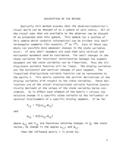 NASA Technical Reports Server (NTRS) 19770003850: A computer program for the use of sensitivity analysis in display evaluation