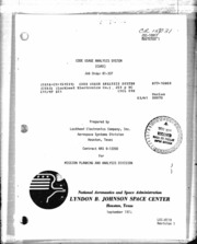 NASA Technical Reports Server (NTRS) 19770003866: Code Usage Analysis System (CUAS)