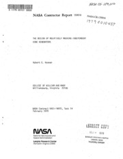 NASA Technical Reports Server (NTRS) 19790010457: The design of relatively machine-independent code generators