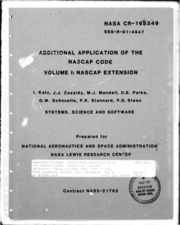 NASA Technical Reports Server (NTRS) 19810019598: Additional application of the NASCAP code. Volume 1: NASCAP extension