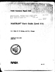 NASA Technical Reports Server (NTRS) 19820007583: NASTRAN user-s guide (Level 17.5)