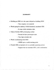 NASA Technical Reports Server (NTRS) 19860013846: A view of software development environment issues