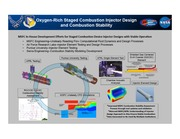 NASA Technical Reports Server NTRS 20140016897: Oxygen-Rich Staged Combustion Injector Design and Combustion Stability